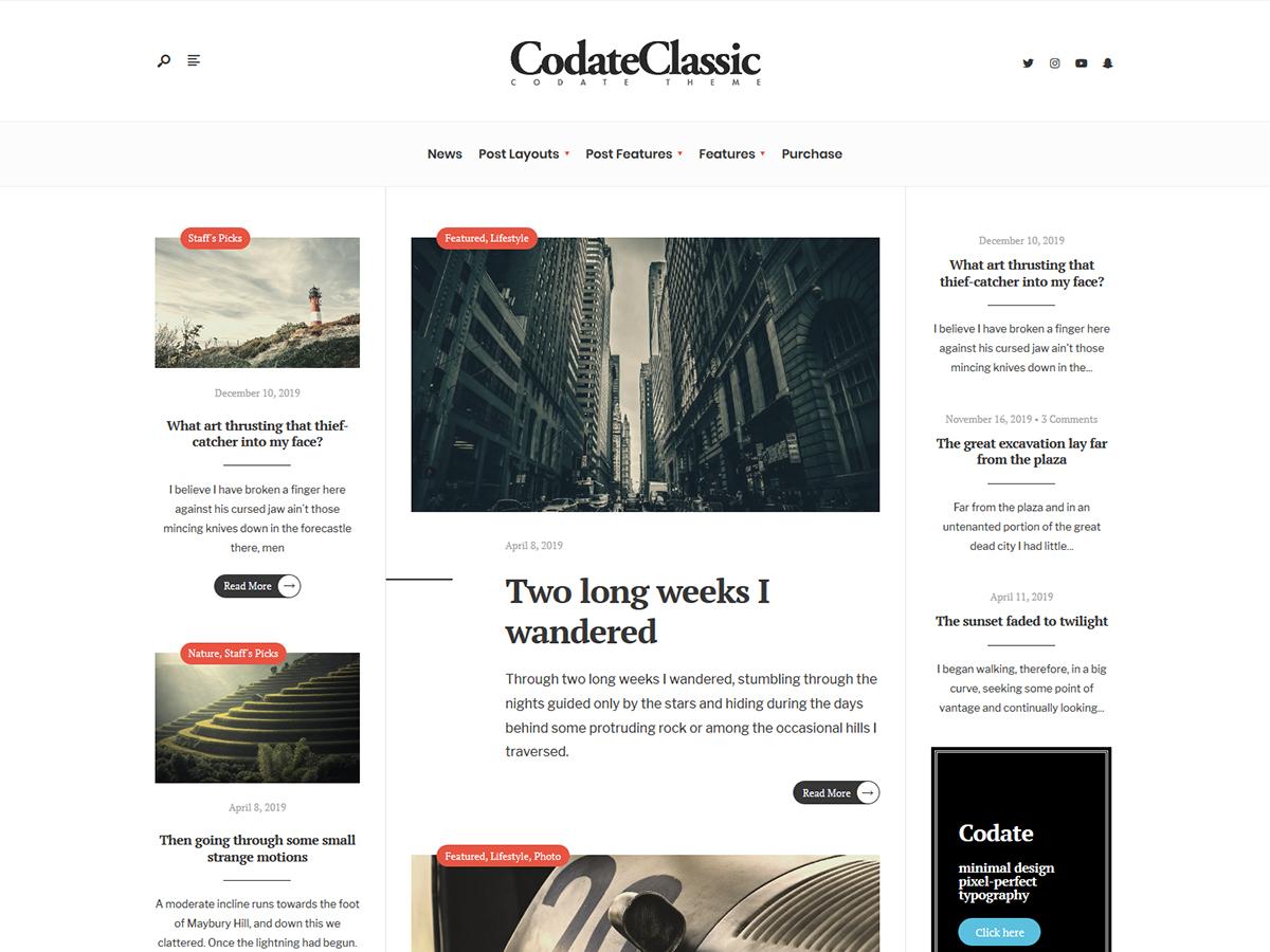 codate-classic-screenshot